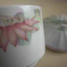 THE PASTEL  COLLECTION  -  RAPSODY- HANDCRAFTED  - DENBY  FINE PORCELAIN  WEST GERMANY  608