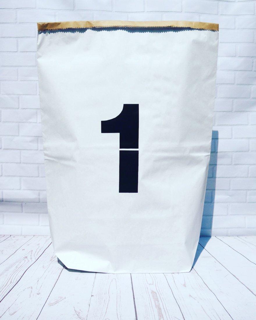 bfb4f92babd8a1 Worek papierowy torba papierowa 1 - 60 cm - Dziecko - DecoBazaar