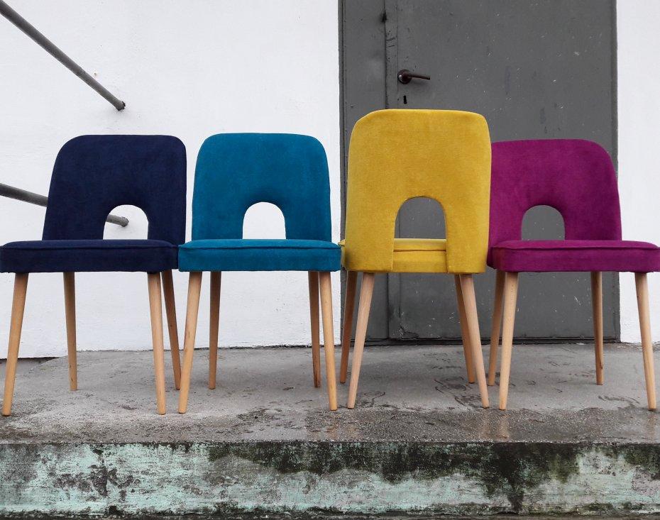 Krzesło Muszelka Błękit