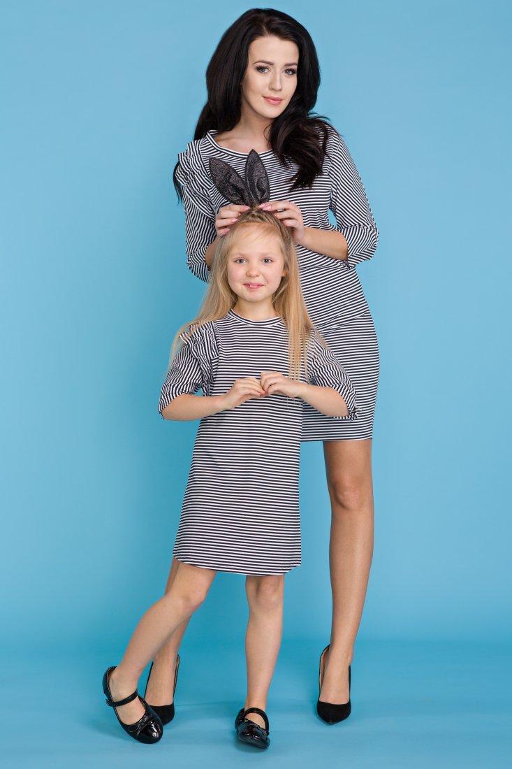 300616b43c3ca2 Komplet dla mamy i córki, sukienka