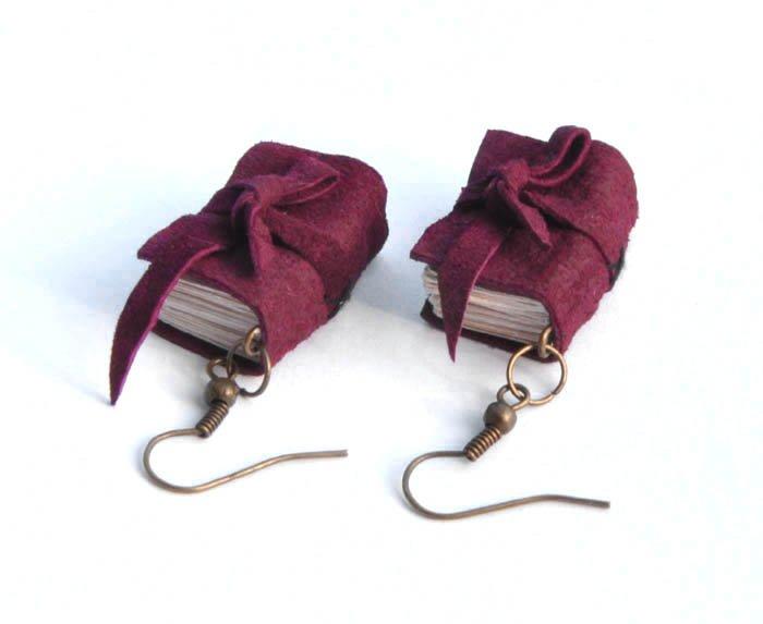b2730f597ca922 kolczyki książki - Biżuteria - DecoBazaar