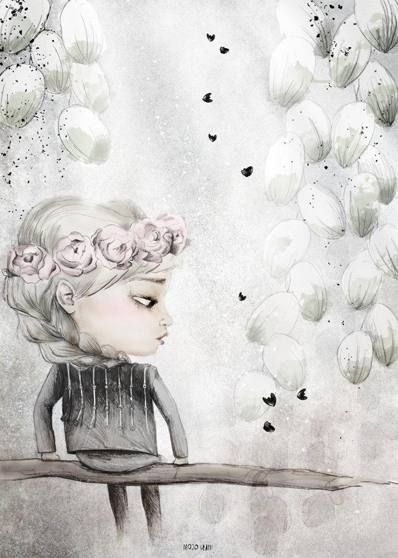 Alona Plakat Na Płótnie Magiczne Drzwi Plakat Dla Dziecka Ilustracje Do Pokoju Dziecięcego Dekoracje Dla Dzieci Dla Dziewczynki